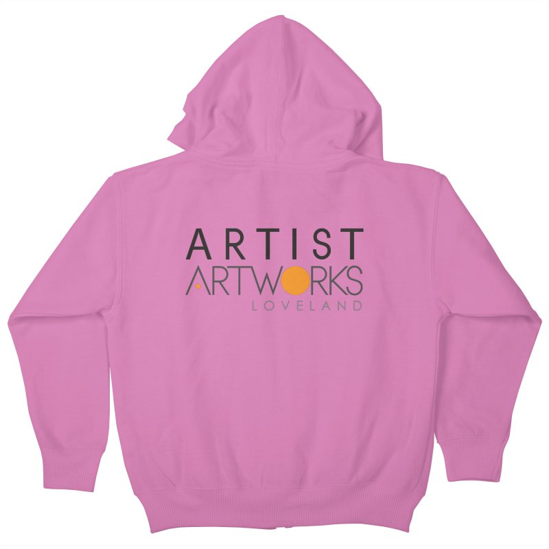 ARTWORKS ARTIST  Kids Zip-Up Hoody by Artworks Loveland