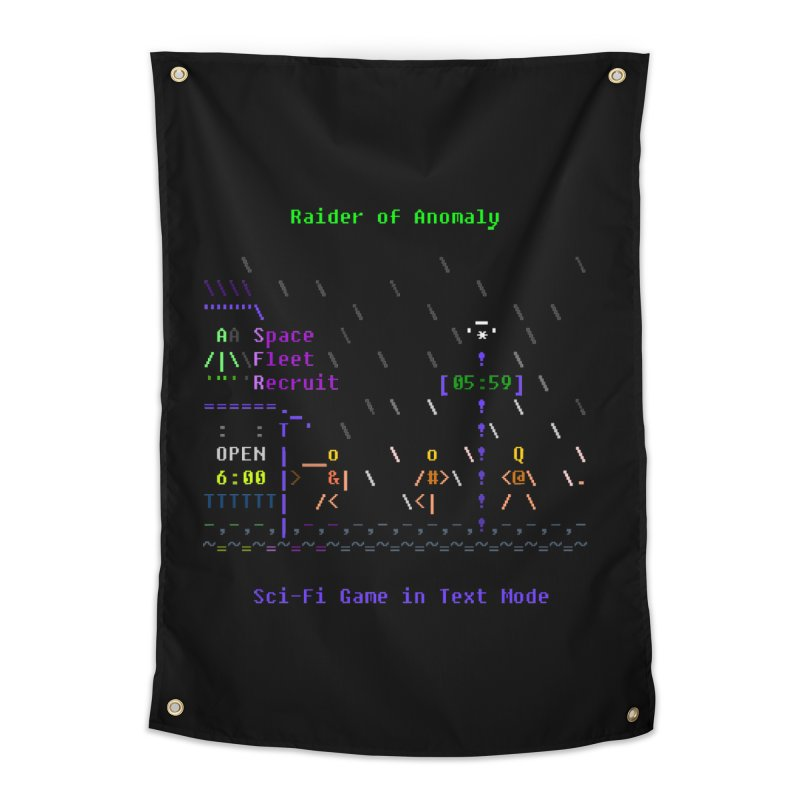 Robot Home Tapestry by ASCIIDENT
