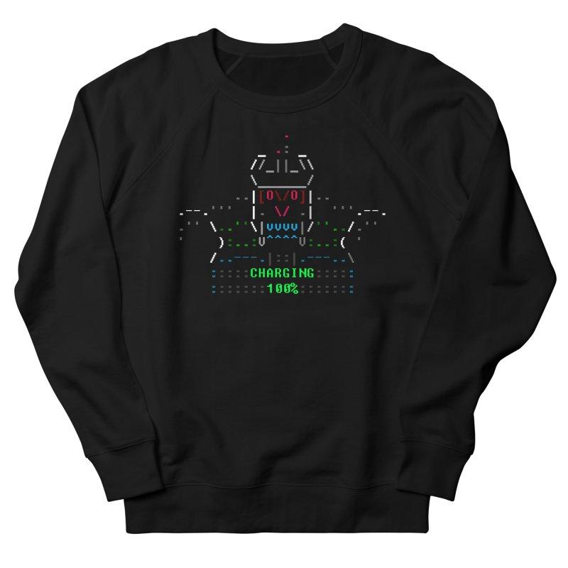 Robot Women's Sweatshirt by ASCIIDENT