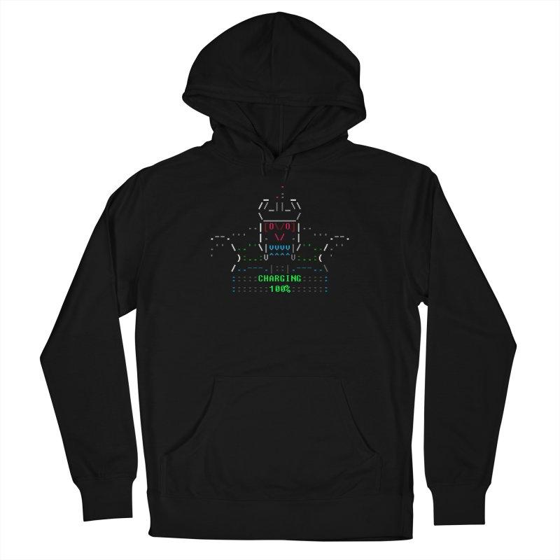 Robot Men's Pullover Hoody by ASCIIDENT