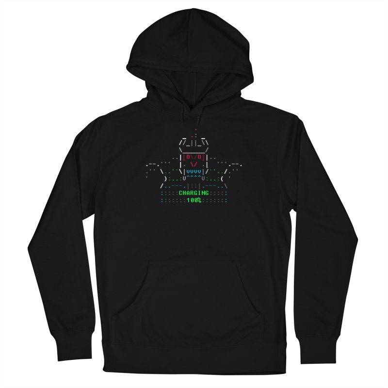 Robot Women's Pullover Hoody by ASCIIDENT