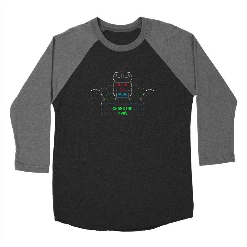 Robot Men's Longsleeve T-Shirt by ASCIIDENT