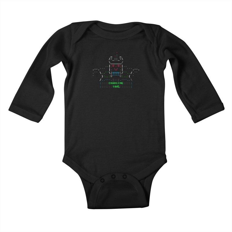 Robot Kids Baby Longsleeve Bodysuit by ASCIIDENT