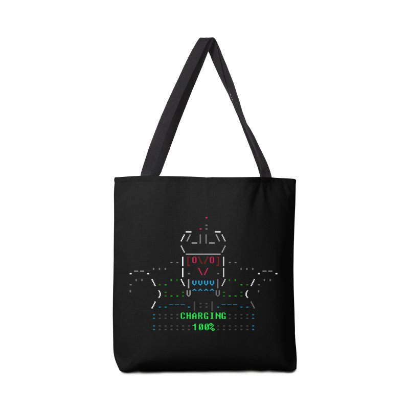 Robot Accessories Tote Bag Bag by ASCIIDENT