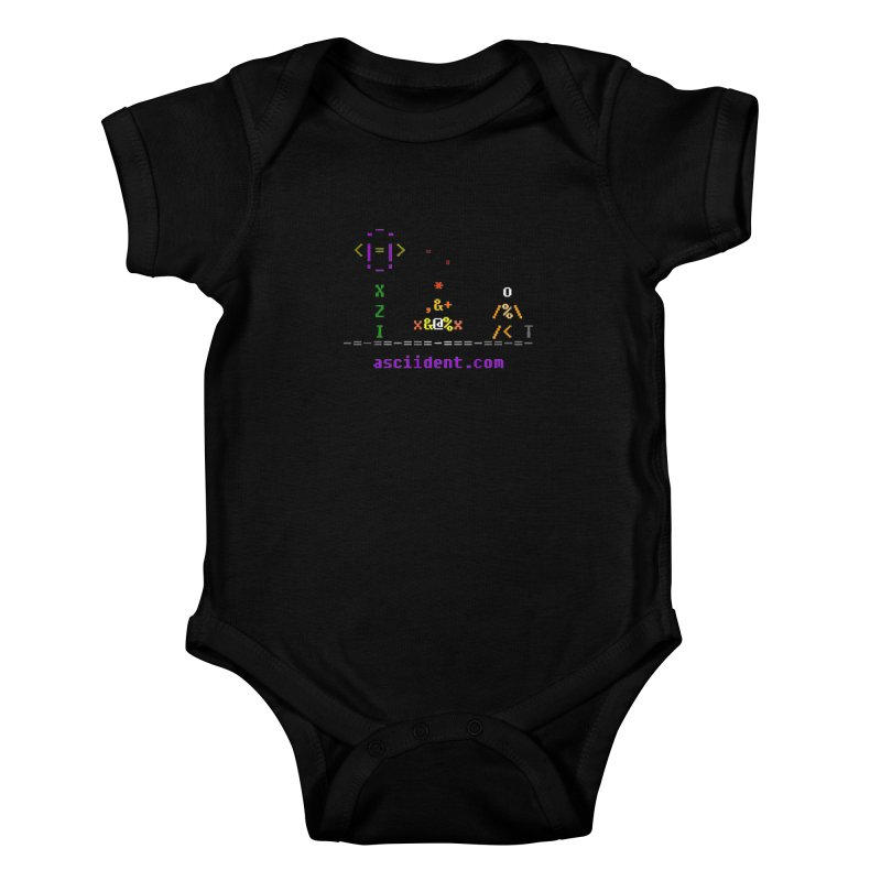 Fire Kids Baby Bodysuit by ASCIIDENT