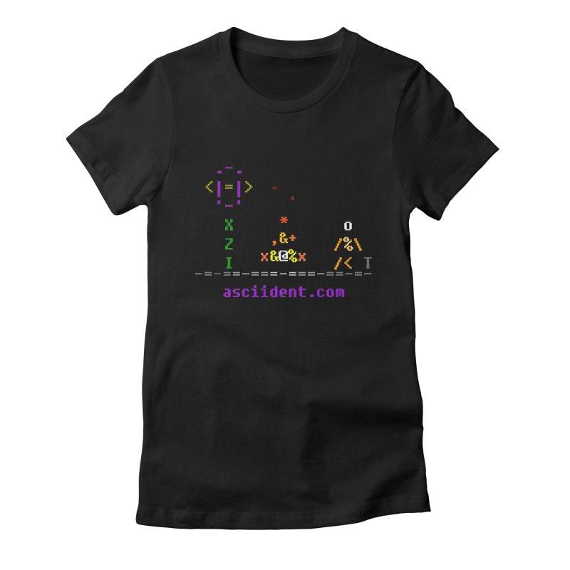 Fire Women's T-Shirt by ASCIIDENT
