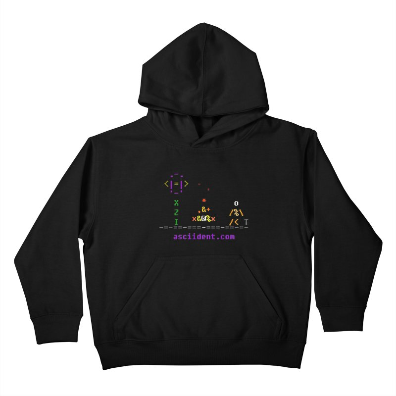 Fire Kids Pullover Hoody by ASCIIDENT