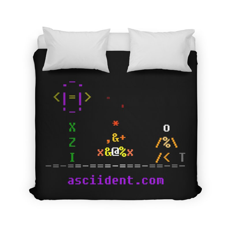 Fire Home Duvet by ASCIIDENT