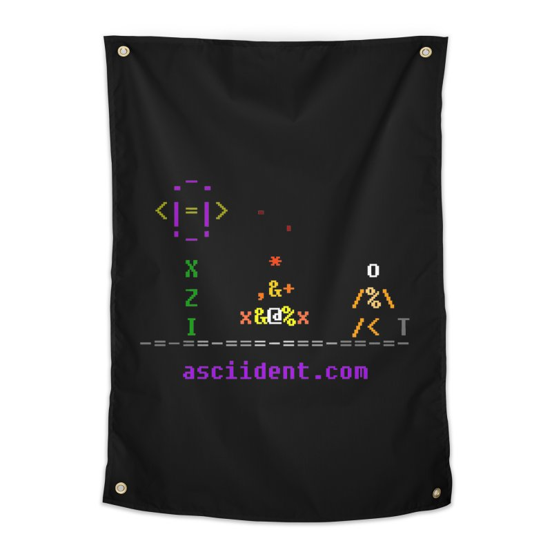 Fire Home Tapestry by ASCIIDENT