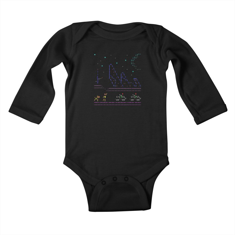 Interception Kids Baby Longsleeve Bodysuit by ASCIIDENT