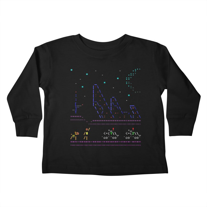 Interception Kids Toddler Longsleeve T-Shirt by ASCIIDENT