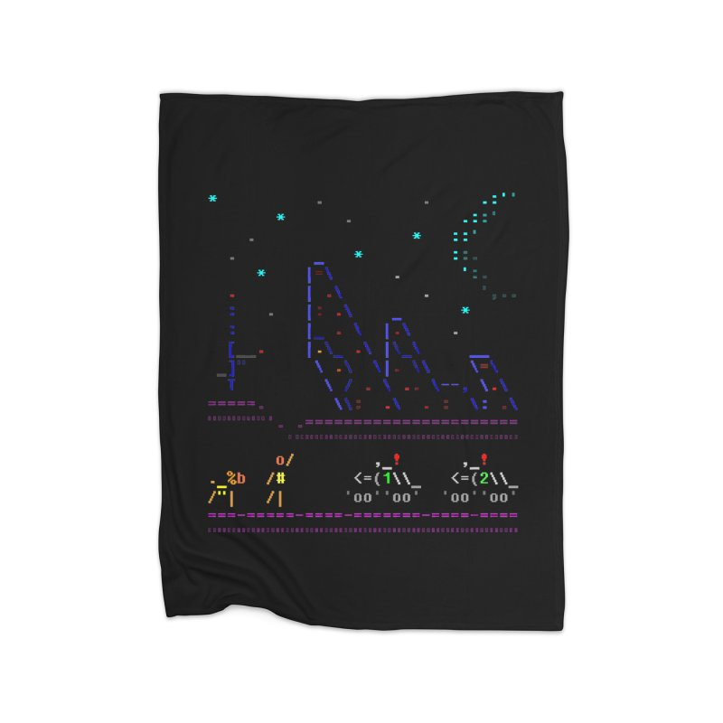Interception Home Fleece Blanket Blanket by ASCIIDENT
