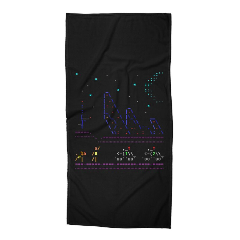 Interception Accessories Beach Towel by ASCIIDENT