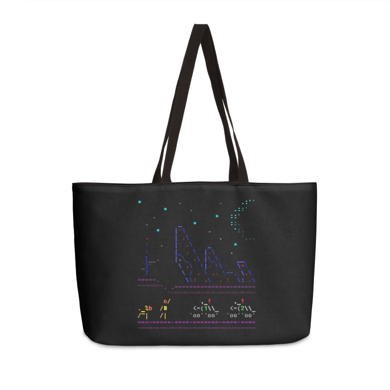 Interception Accessories Weekender Bag Bag by ASCIIDENT