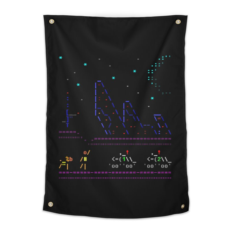 Interception Home Tapestry by ASCIIDENT