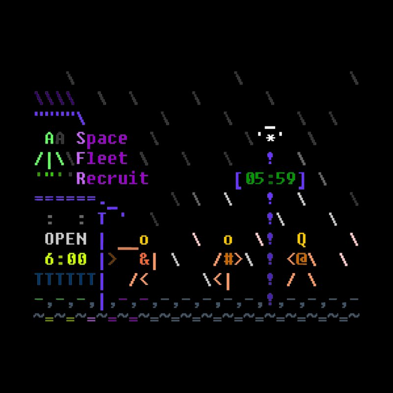 Space Fleet Recruit by ASCIIDENT