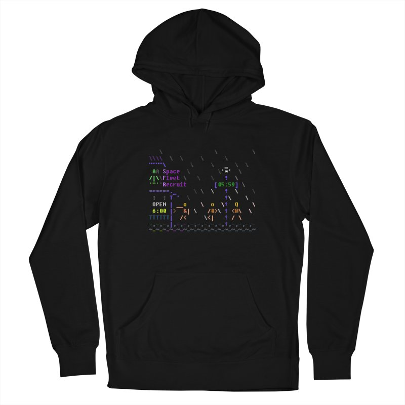 Space Fleet Recruit Women's French Terry Pullover Hoody by ASCIIDENT