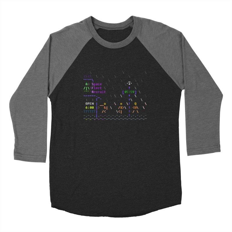 Space Fleet Recruit Women's Baseball Triblend Longsleeve T-Shirt by ASCIIDENT
