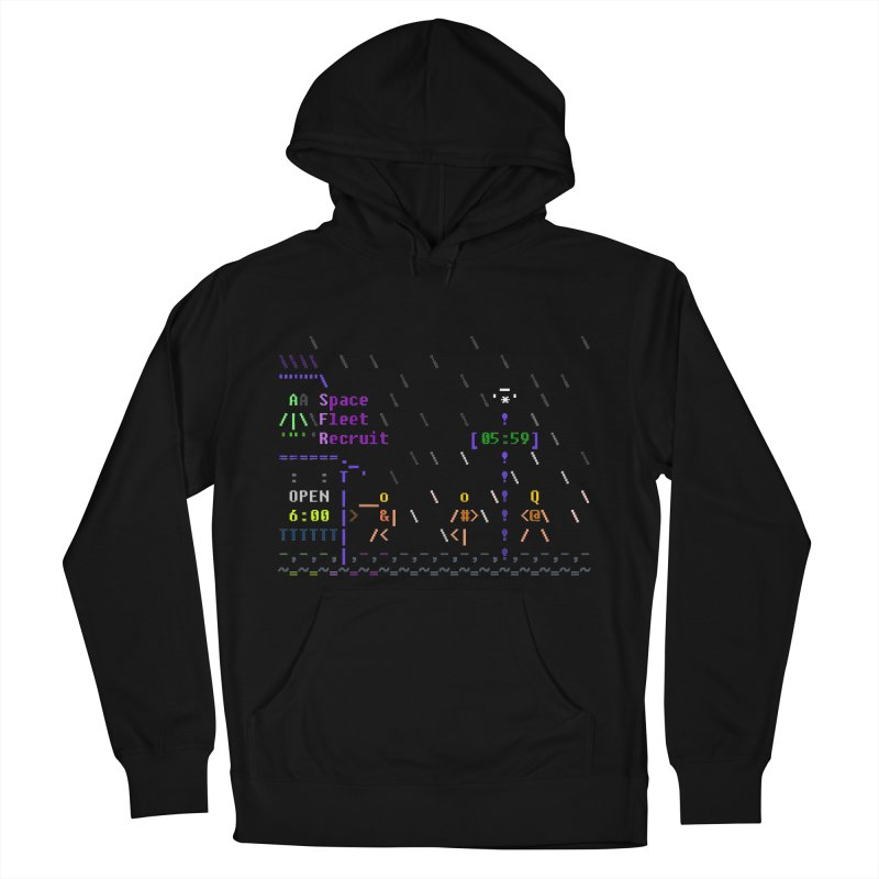 Space Fleet Recruit Men's Pullover Hoody by ASCIIDENT