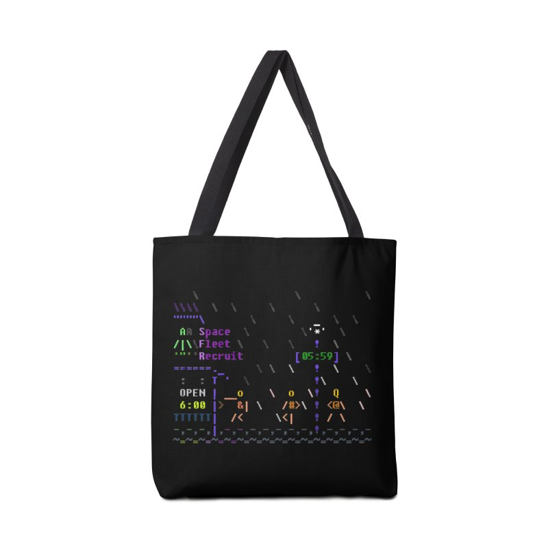 Space Fleet Recruit Accessories Tote Bag Bag by ASCIIDENT