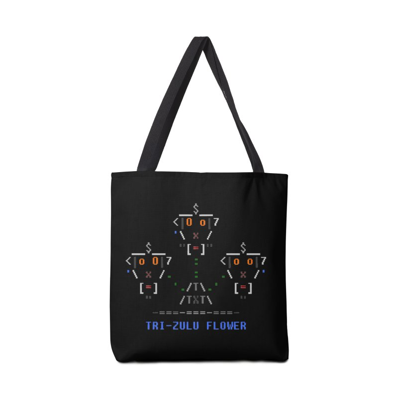 Tri-zulu Flower Accessories Tote Bag Bag by ASCIIDENT
