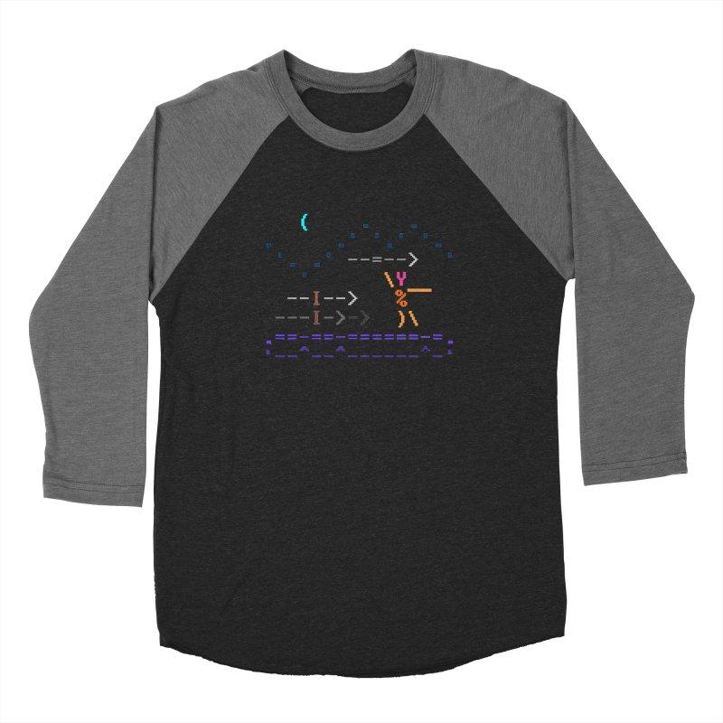 Spear-man Women's Longsleeve T-Shirt by ASCIIDENT