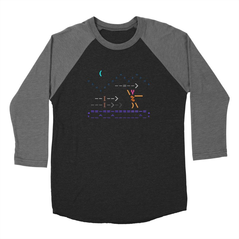 Spear-man Men's Longsleeve T-Shirt by ASCIIDENT