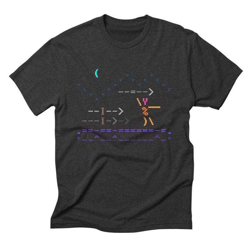 Spear-man Men's Triblend T-Shirt by ASCIIDENT