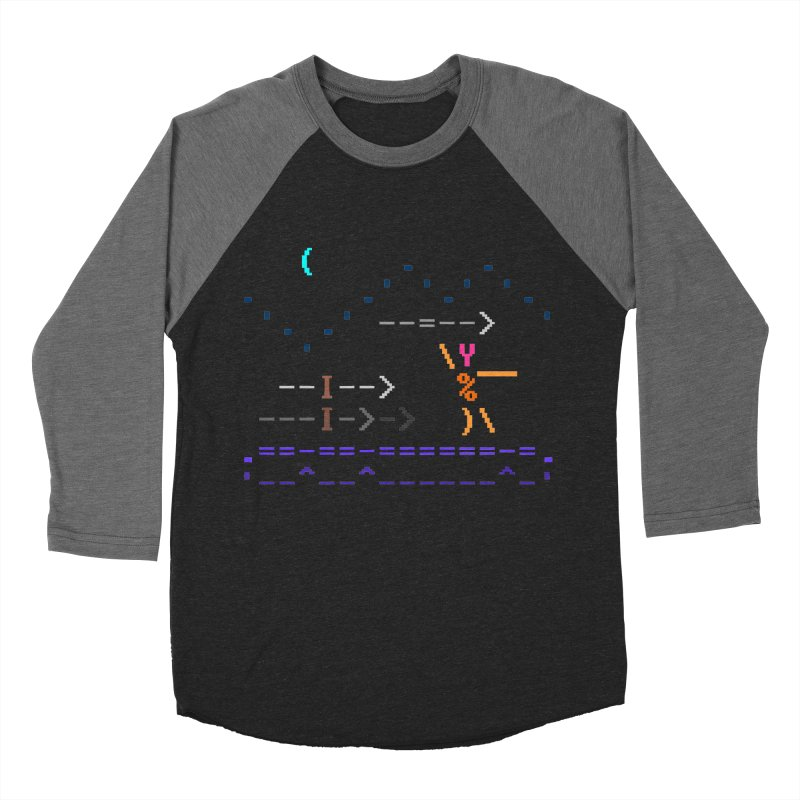 Spear-man Men's Baseball Triblend T-Shirt by ASCIIDENT