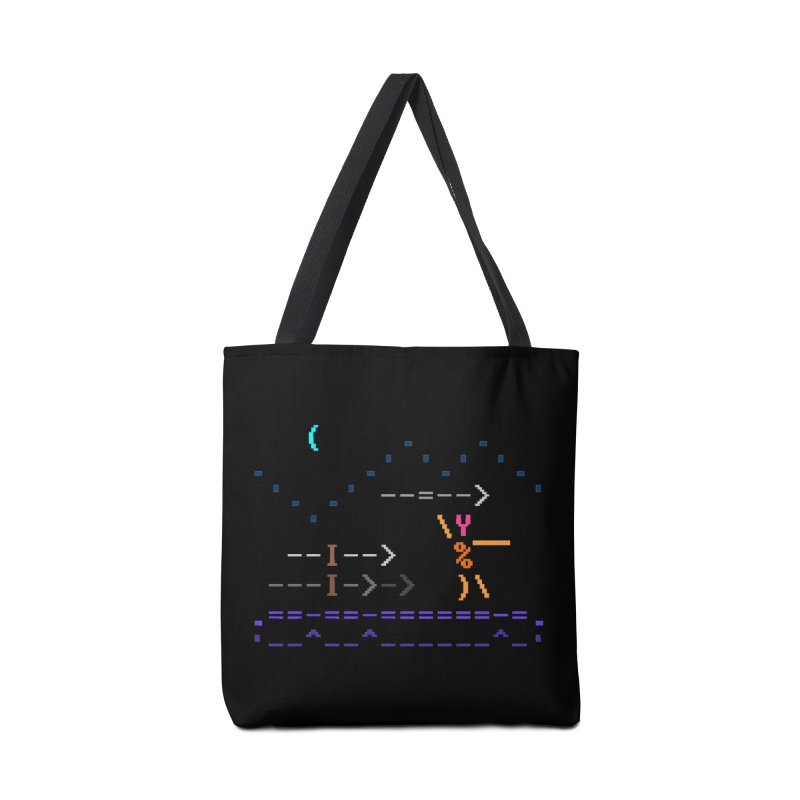 Spear-man Accessories Tote Bag Bag by ASCIIDENT