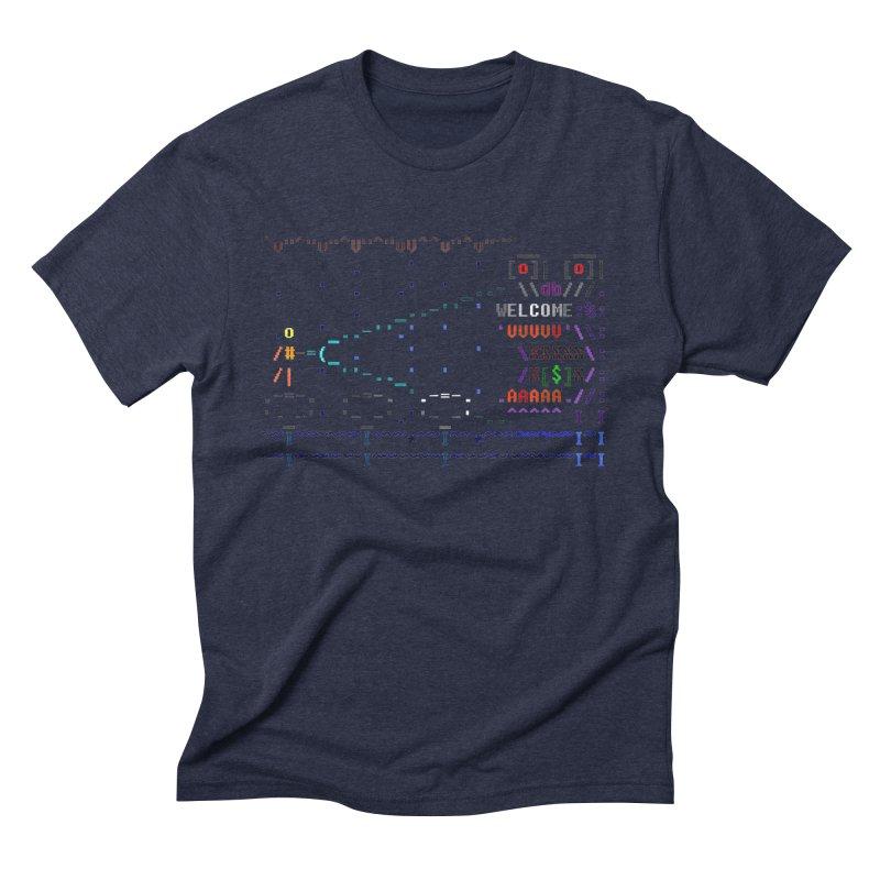Flashlight Men's Triblend T-Shirt by ASCIIDENT