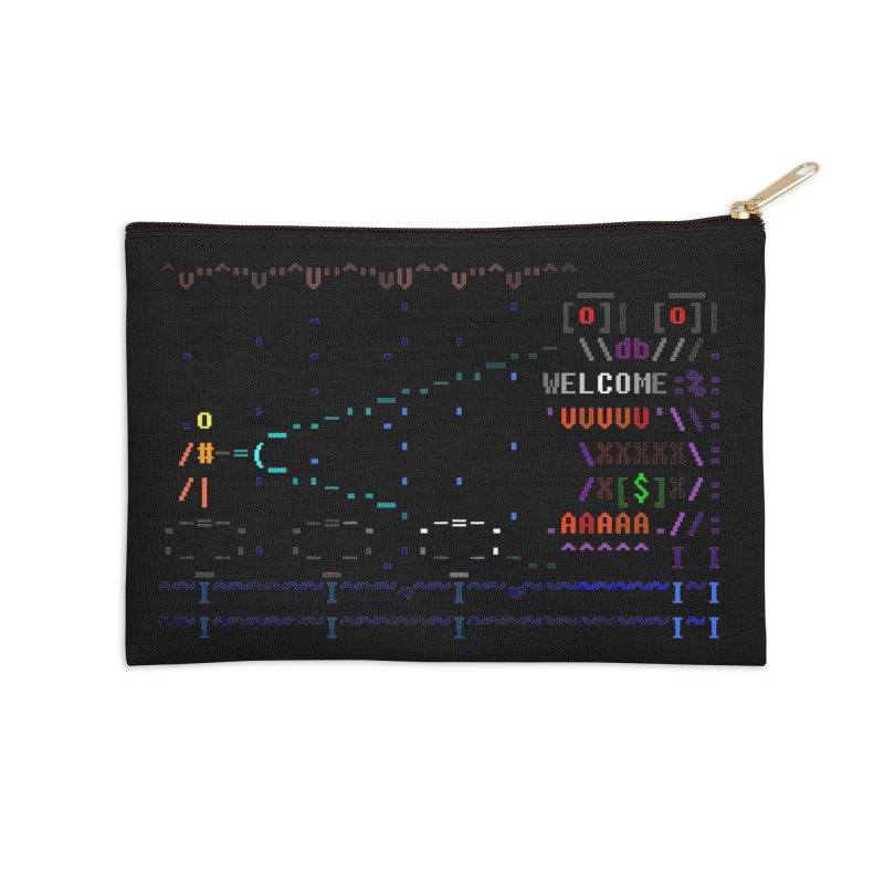 Flashlight Accessories Zip Pouch by ASCIIDENT