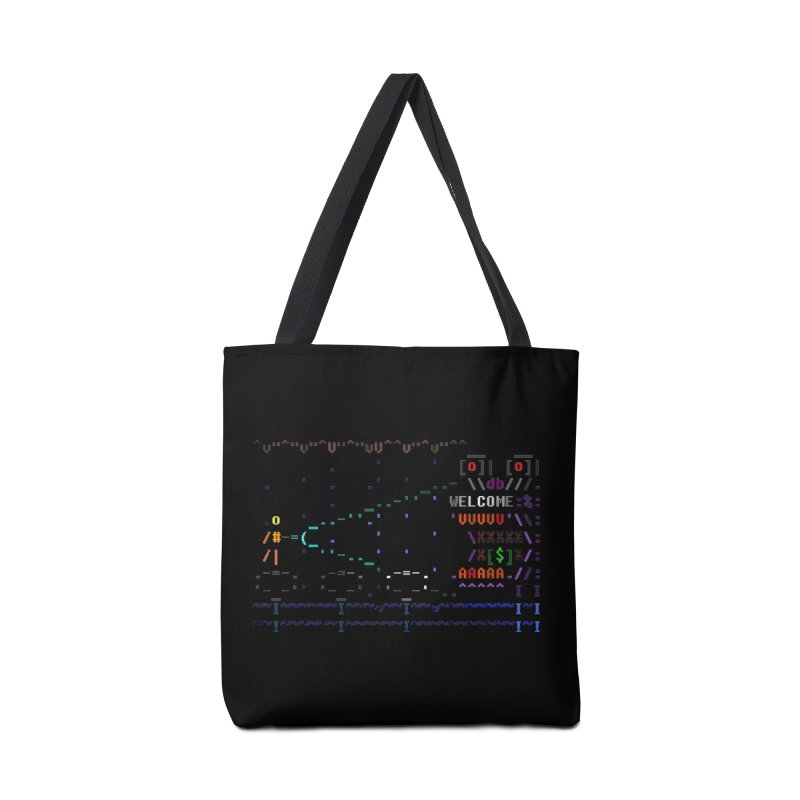 Flashlight Accessories Tote Bag Bag by ASCIIDENT