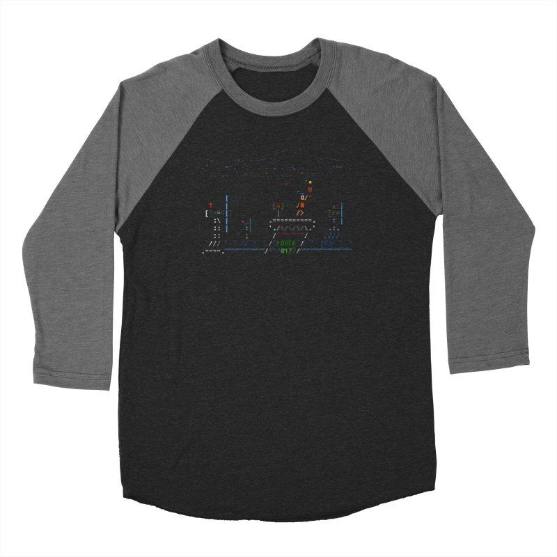 Power Plant Women's Baseball Triblend Longsleeve T-Shirt by ASCIIDENT