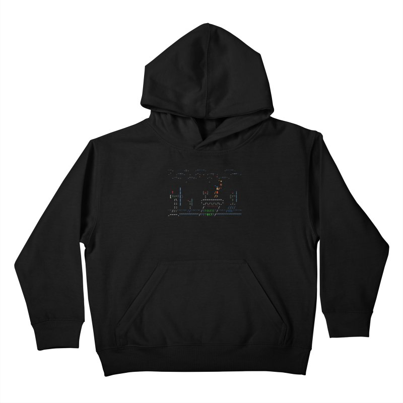 Power Plant Kids Pullover Hoody by ASCIIDENT
