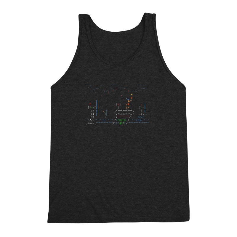 Power Plant Men's Triblend Tank by ASCIIDENT
