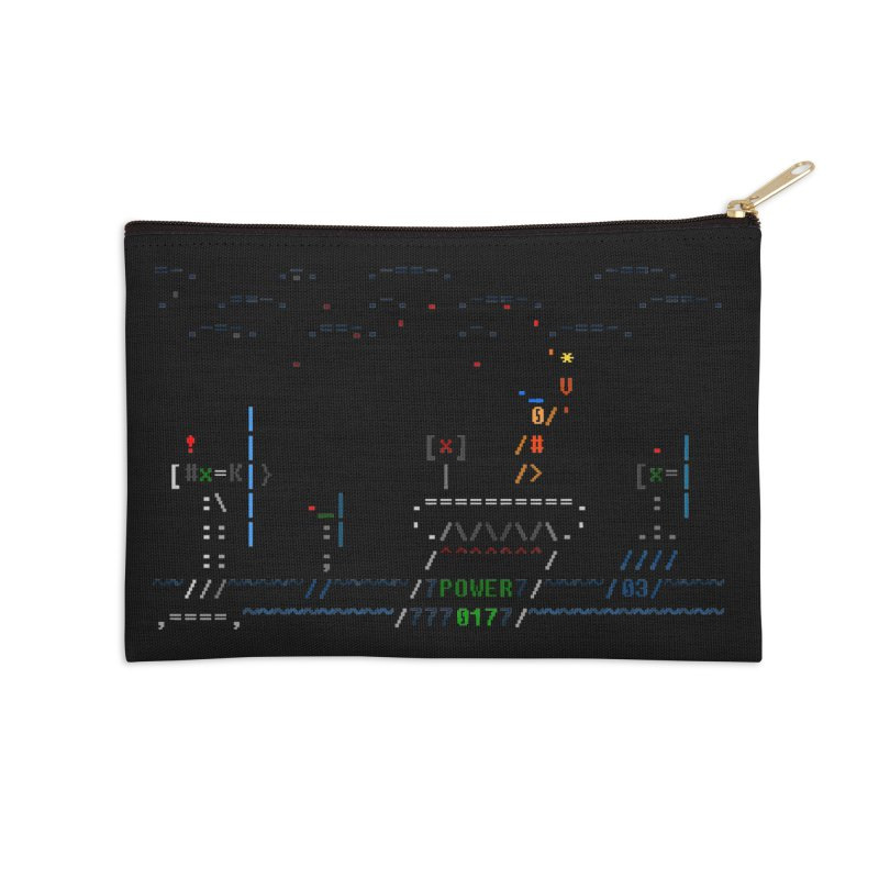 Power Plant Accessories Zip Pouch by ASCIIDENT