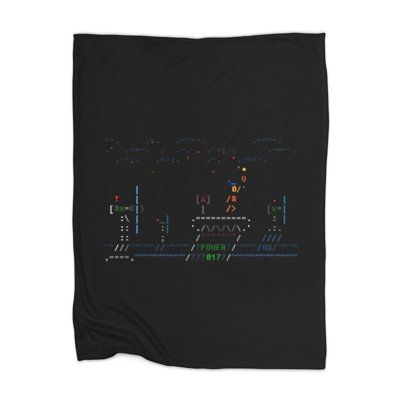 Power Plant Home Blanket by ASCIIDENT