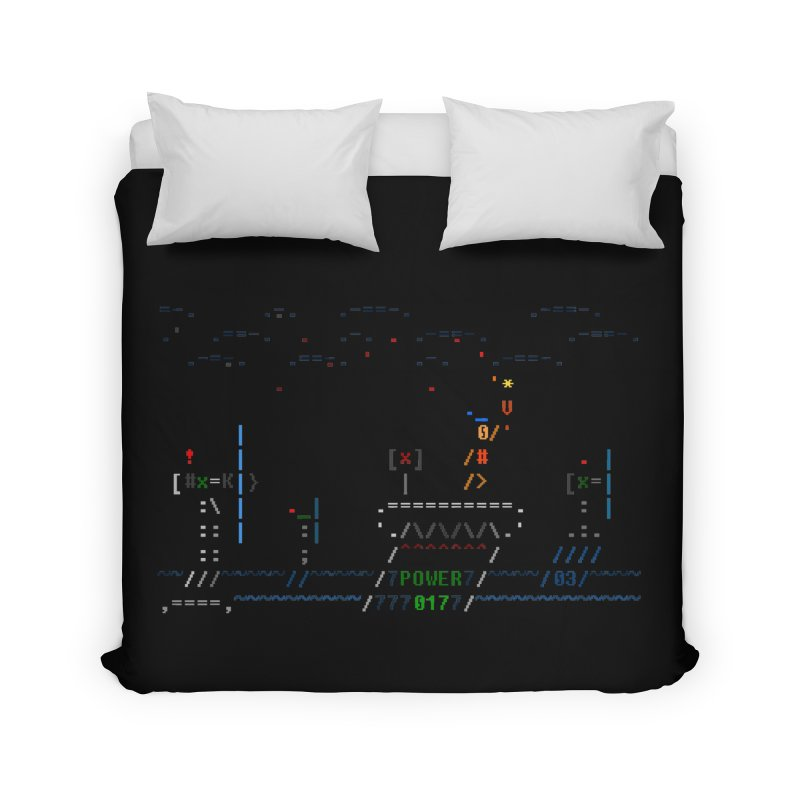 Power Plant Home Duvet by ASCIIDENT