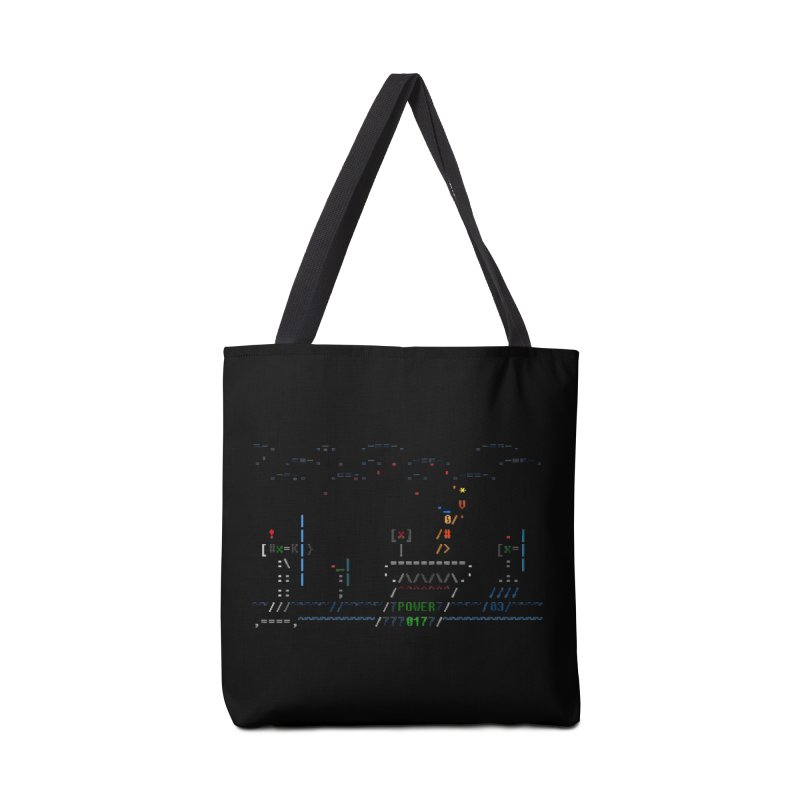 Power Plant Accessories Tote Bag Bag by ASCIIDENT