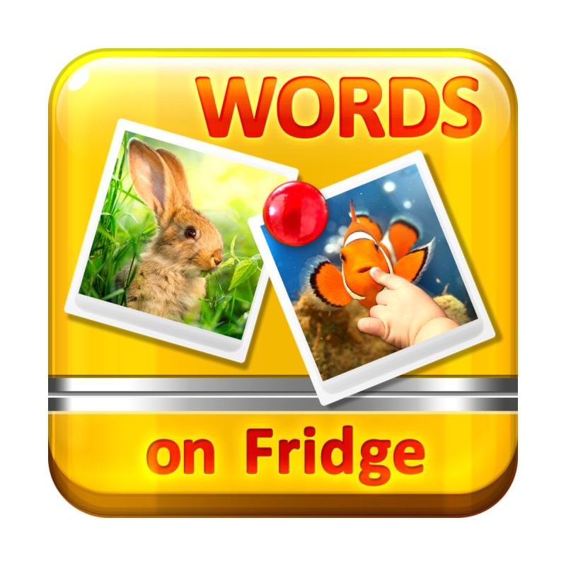 Words on Fridge by ASCIIDENT