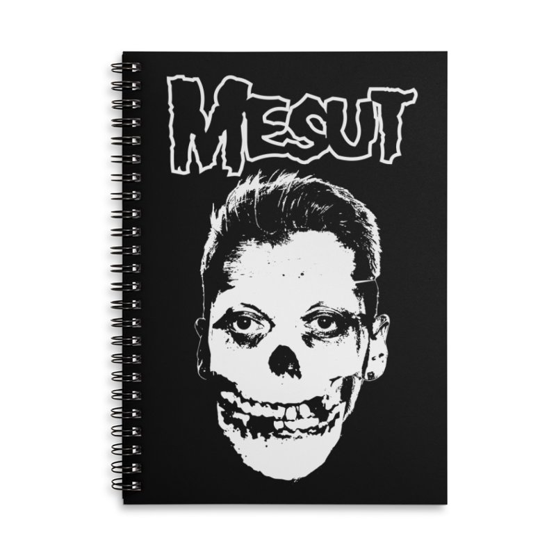 Mesut Accessories Lined Spiral Notebook by ASC Madison