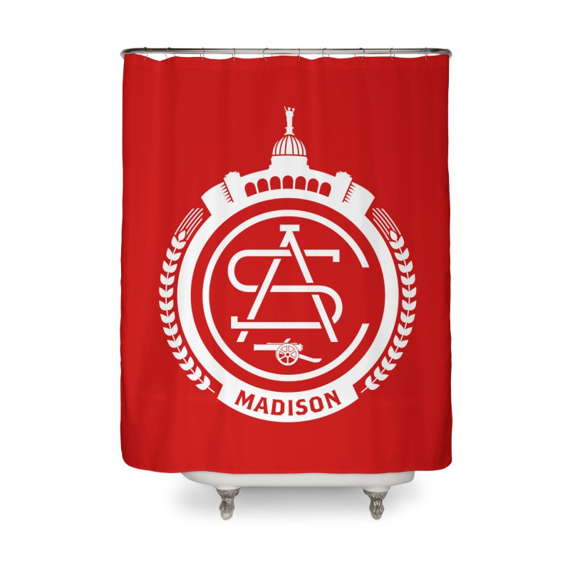 ASC Madison Terrace - Home Strip Home Shower Curtain by ASC Madison