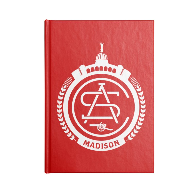 ASC Madison Terrace - Home Strip Accessories Blank Journal Notebook by ASC Madison