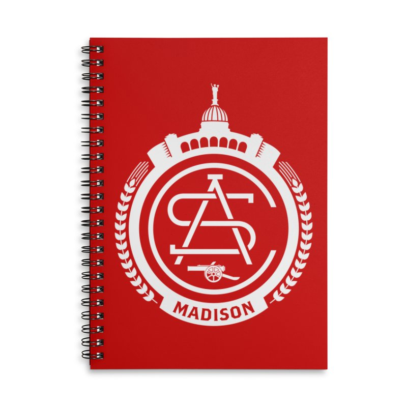 ASC Madison Terrace - Home Strip Accessories Lined Spiral Notebook by ASC Madison