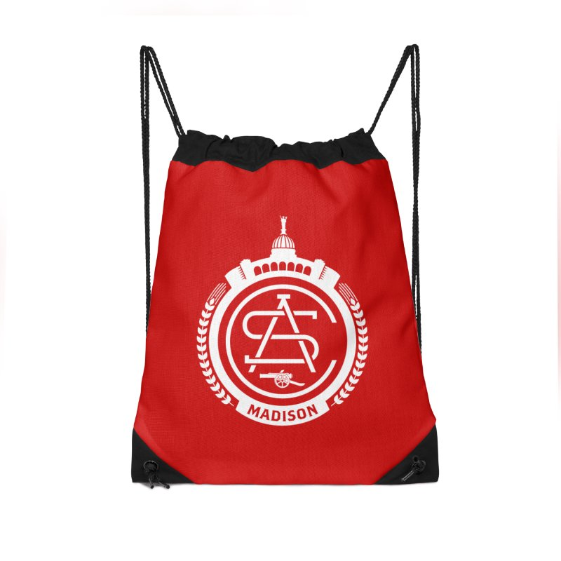 ASC Madison Terrace - Home Strip Accessories Drawstring Bag Bag by ASC Madison