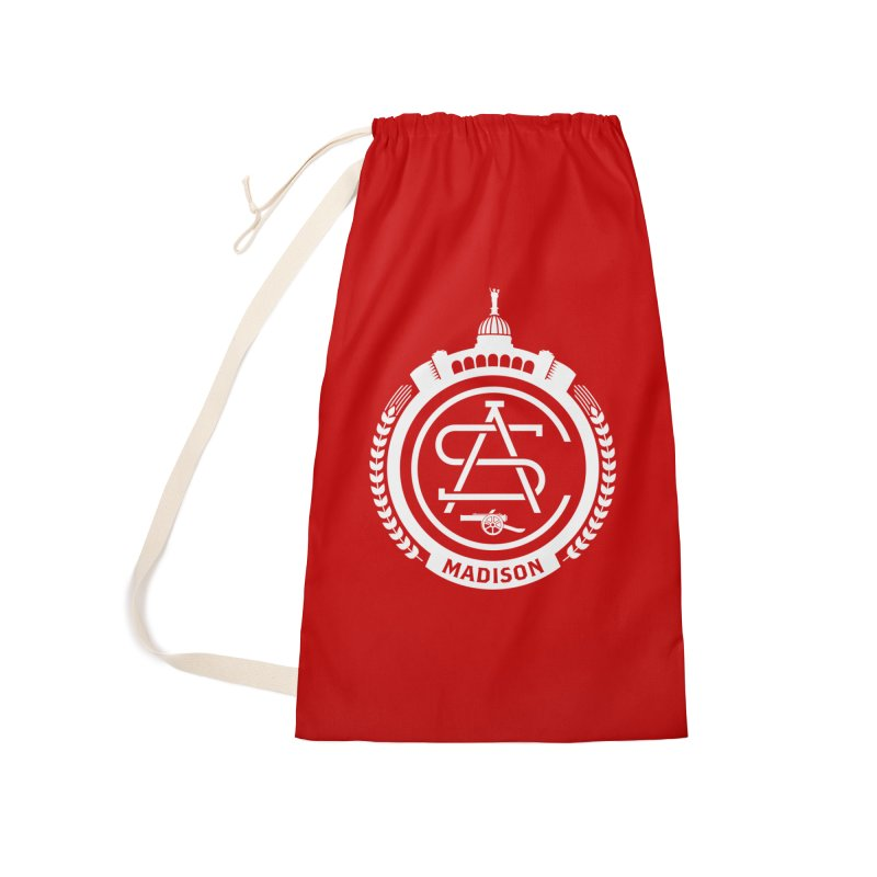 ASC Madison Terrace - Home Strip Accessories Laundry Bag Bag by ASC Madison