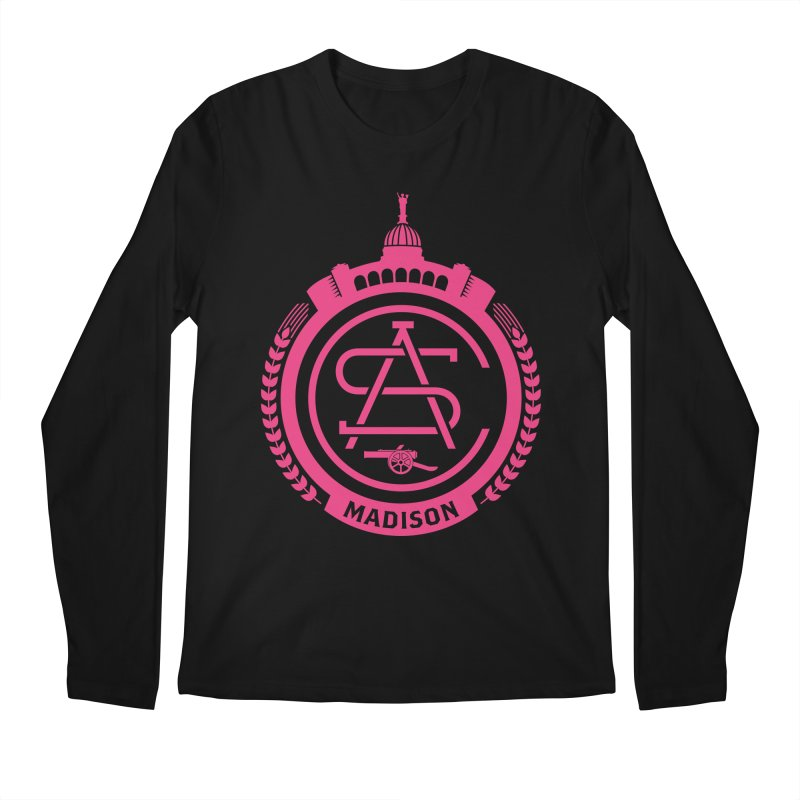 ASC Madison Terrace - 17-18 Third Strip Men's Regular Longsleeve T-Shirt by ASC Madison