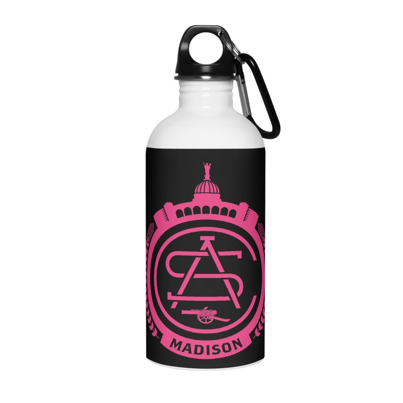 ASC Madison Terrace - 17-18 Third Strip Accessories Water Bottle by ASC Madison