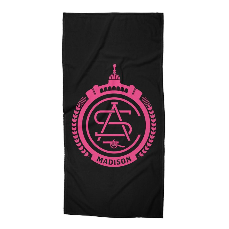 ASC Madison Terrace - 17-18 Third Strip Accessories Beach Towel by ASC Madison